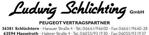 Offizieller Partner von Peugeot Schlichting